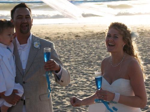De toast, onmisbaar op een bruiloft