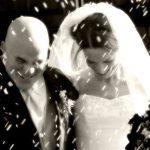 Een bruiloft met gescheiden ouders