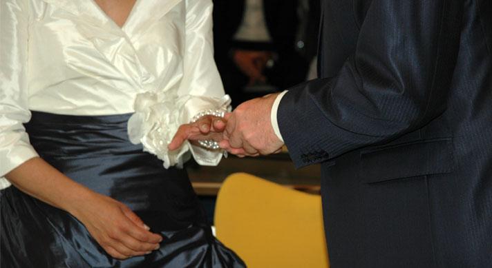 bruidspaar-trouwring