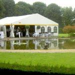 Alles went… dus ook trouwen in een tent