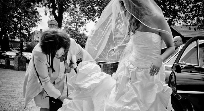 cermoniemeester-bruid