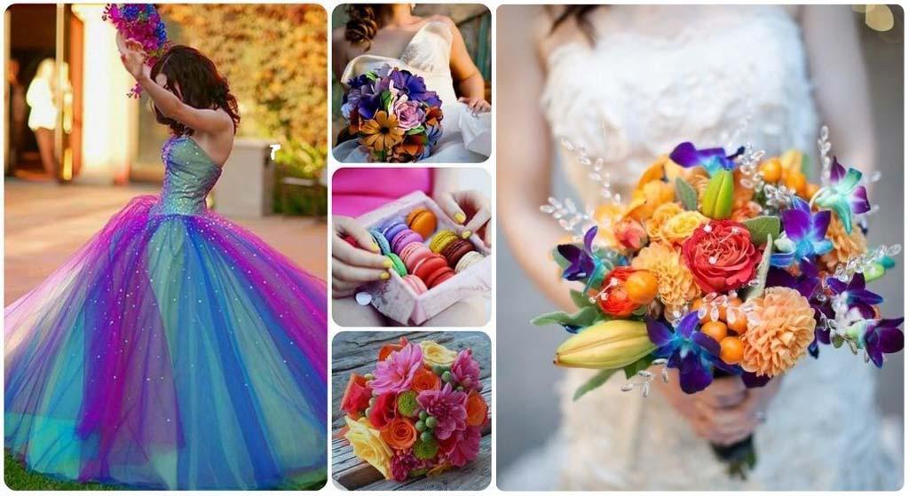 trouwboeket-trouwjurk-kleuren