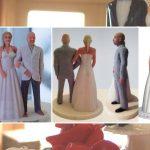 Een persoonlijke taarttopper bij jullie huwelijk
