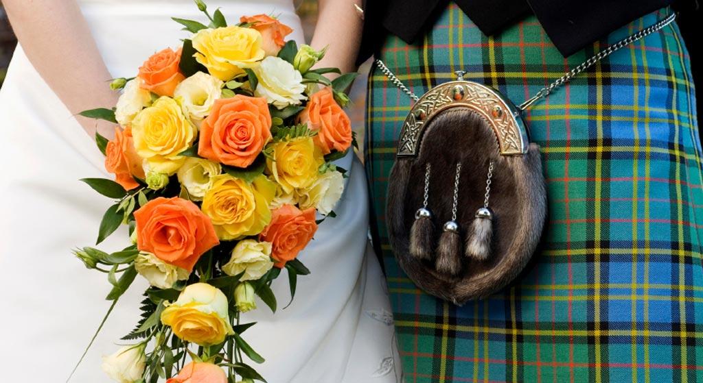 bruid-bruidegom-schotland-kilt