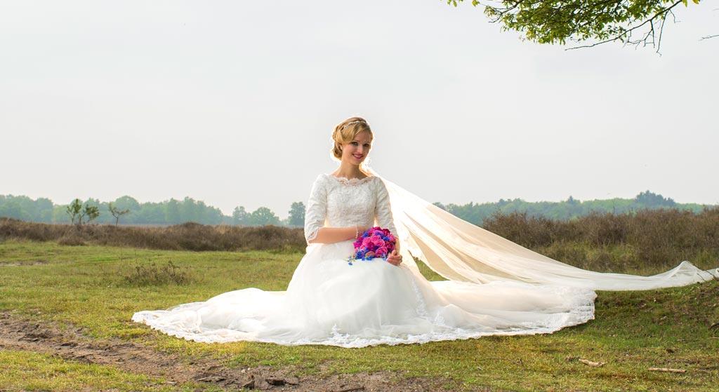 bruid grenzeloos trouwen