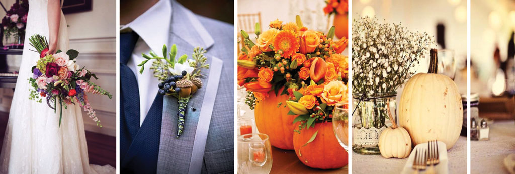 Herfst bruiloft trouwshop