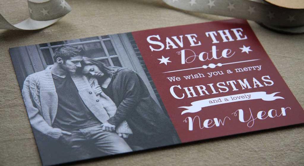 kerst-trouwkaart
