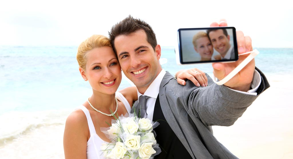 bruidspaar-selfie