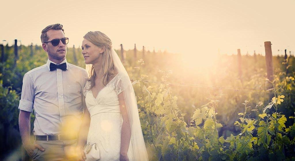 Bruidspaar in Toscane