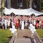 Bruiloft / trouwen in een tent
