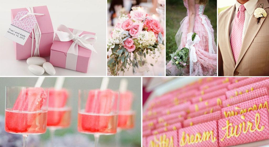 Kleurkeuze op je bruiloft is belangrijk voor de sfeer