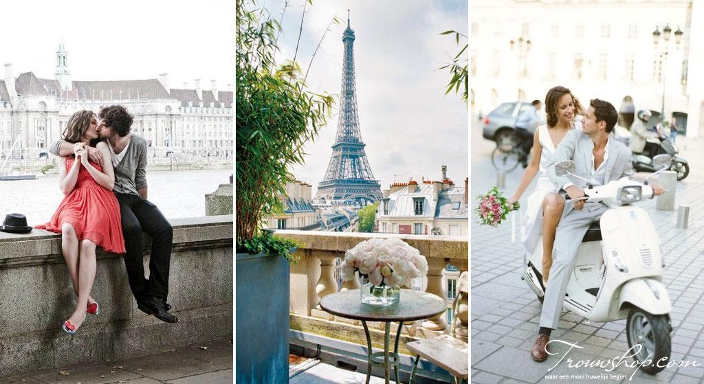 huwelijksreis stedentrip