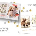 Kaartje2Go  -Save the date-  kaartjes