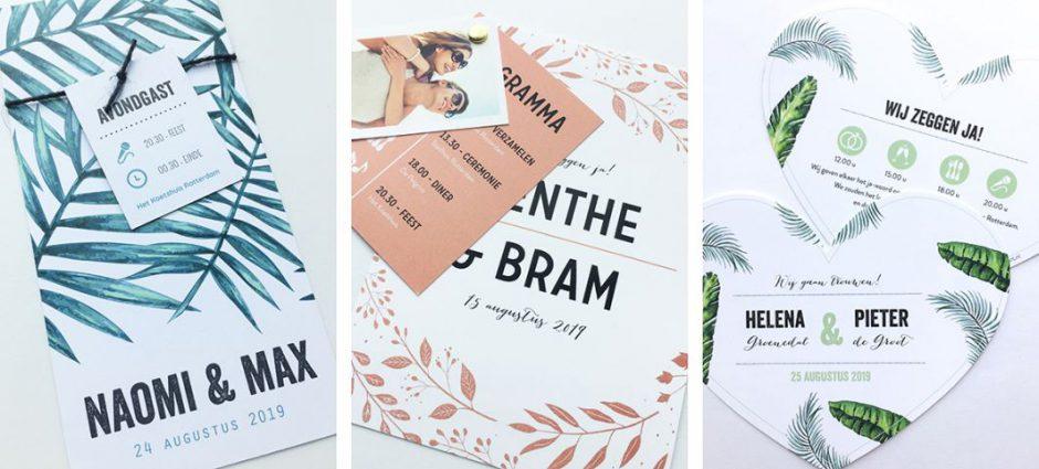 botanische-trouwkaarten