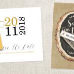 NIEUW: kerstlabeltjes voor save the date kaart