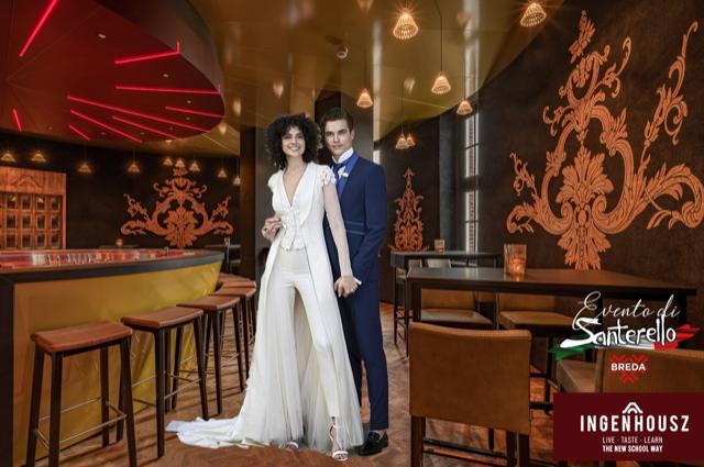 Bruid en Bruidegom verzorgd door Santorello