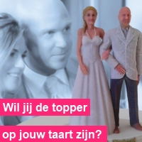3Dimenz Taarttoppers